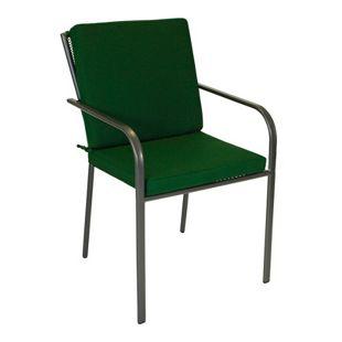 DEGAMO Auflage DENVER für Sessel, dunkelgrün