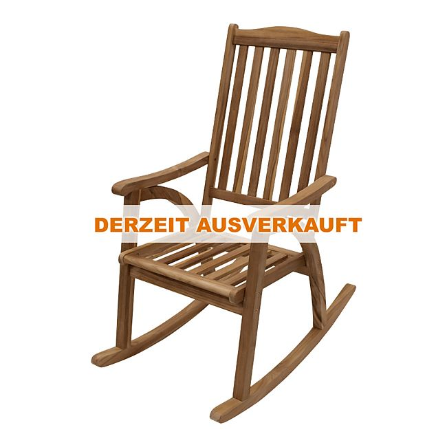 Degamo schaukelstuhl ilva aus teakholz online kaufen for Gartenxxl schaukelstuhl