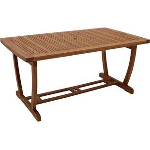 DEGAMO Tisch FILEY 160x90cm, Eukalyptus geölt