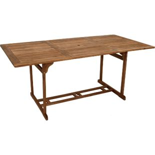 DEGAMO Holztisch KORFU rechteckig, 90x180cm, Akazie geölt