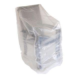 DEGAMO Abdeckhaube Stapelstühle 150cm, PE transparent