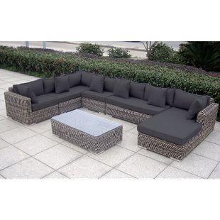 Baidani Rundrattan Garten Lounge Perfection Select