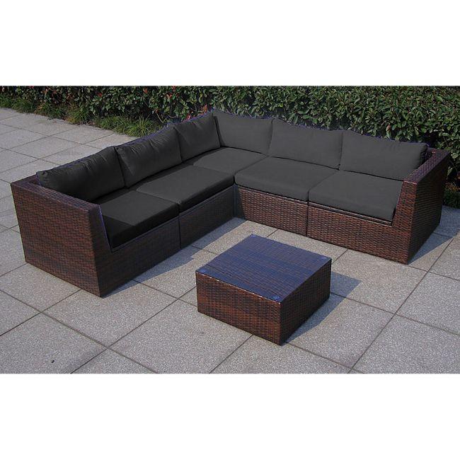 baidani rattan garten lounge surprise select integrierter. Black Bedroom Furniture Sets. Home Design Ideas
