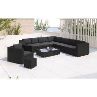 Baidani Rattan Garten Lounge Blizzard Select