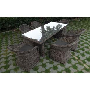 Baidani Rundrattan Garten Sitzgruppe Spring Select