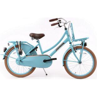 20 Zoll Mädchen Fahrrad Popal Daily Dutch Basic TR20 ohne... türkis