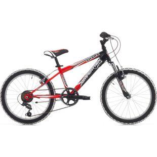 20 Zoll Mountainbike Cinzia Shark Boy 6 Gang... rot-schwarz