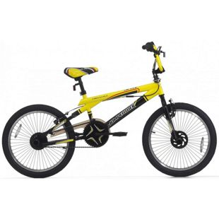 20 Zoll BMX Fahrrad Cinzia Jetix... schwarz-gelb