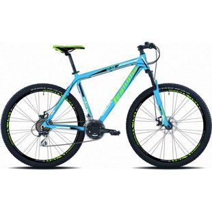 29 Zoll Mountainbike Legnano Andalo 21 Gang... 40 cm, matt-hellblau-grün