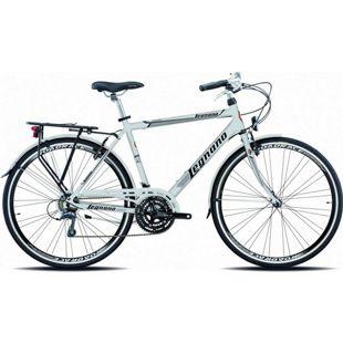 28 Zoll Herren City Fahrrad Legnano Sanremo 21 Gang... silber, 48 cm
