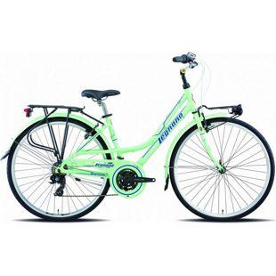 28 Zoll Damen City Fahrrad Legnano Lerici 21 Gang... grün, 44 cm