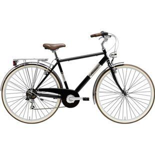 28 Zoll Herren City Fahrrad Adriatica Panarea 6... schwarz