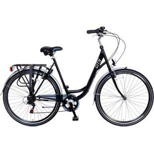 28 Zoll Damen Cityrad Popal 2893 6... schwarz, 57 cm