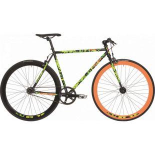 28 Zoll Herren Singlespeed Fahrrad Atala Queens... schwarz