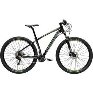 29 Zoll Mountainbike Adriatica Wing M2.2 20... schwarz-grün, 43 cm