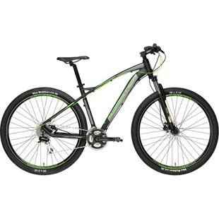 29 Zoll Mountainbike Adriatica Wing RS 24... schwarz-grün, 46 cm