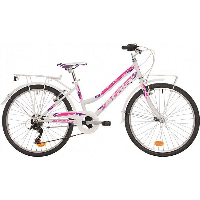 24 Zoll Mädchen Fahrrad Atala... weiß-pink online kaufen | GartenXXL.de