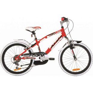 20 Zoll Jungen Fahrrad Atala Bad... rot-schwarz