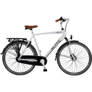 28 Zoll Herren City Fahrrad 3 Gang Hoopfietsen Altec Delta... grau, 50 cm