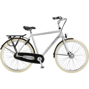 28 Zoll Herren City Fahrrad 7 Gang Hoopfietsen Altec... grau, 60 cm