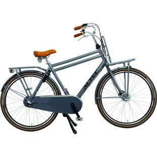 28 Zoll Herren Holland Fahrrad 3 Gang Hoopfietsen Altec... grau, 53 cm