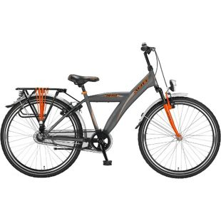 26 Zoll Herren City Fahrrad Hoopfietsen Altec Hero... grau-orange