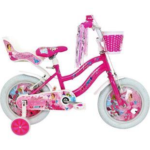 14 Zoll Mädchen Fahrrad Hoopfietsen Princess... pink