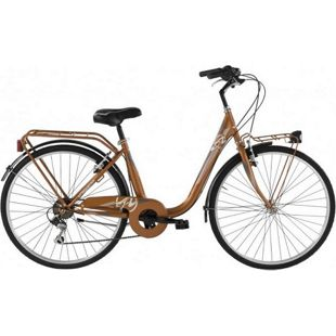 26 Zoll Damen City Fahrrad Alpina Beauty... bronze