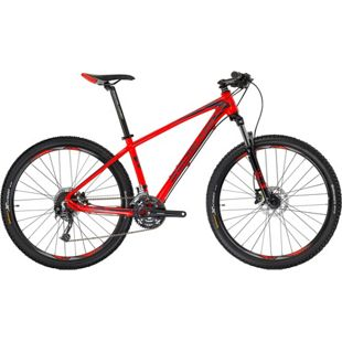 27,5 Zoll Herren Mountainbike 24 Gang Shockblaze R5... rot, 52 cm