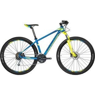 29 Zoll Herren Mountainbike 27 Gang Shockblaze... blau, 40 cm