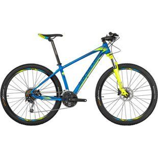 27,5 Zoll Herren Mountainbike 27 Gang Shockblaze... blau, 52 cm