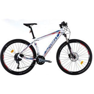 27,5 Zoll Herren MTB Fahrrad Sprint Apolon Pro... weiß, 52 cm