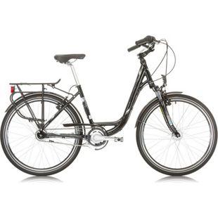 26 Zoll Damen City Fahrrad Sprint Solara Lady Nexus 7 Seventeen... schwarz