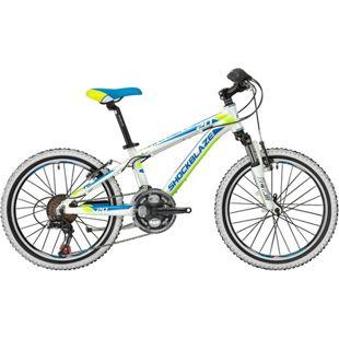 20 Zoll Jungen Mountainbike 18 Gang Shockblaze... weiß