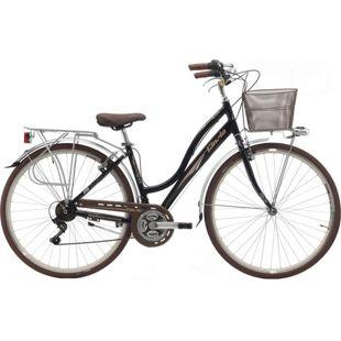 28 Zoll Damen City Fahrrad Cinzia Giara 21 Gang... schwarz