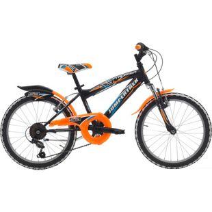 20 Zoll Mountainbike Cinzia Thunder 6 Gang... schwarz-orange