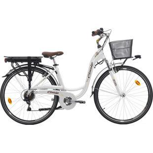 28 Zoll Damen Elektro Fahrrad Cinzia Sfera... weiß