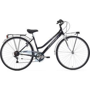 28 Zoll Damen Trekking Fahrrad Cinzia Country 6... schwarz