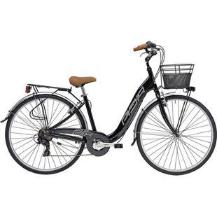 26 Zoll Damen City Fahrrad Adriatica Relax 6... schwarz