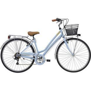 28 Zoll Damen City Fahrrad Adriatica Trend 6... blau