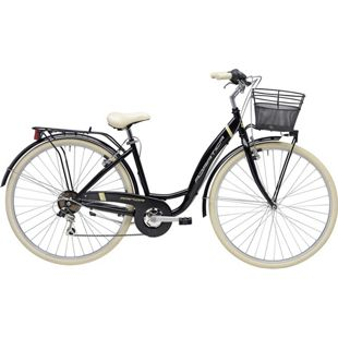 28 Zoll Damen City Fahrrad Adriatica Panda 6... schwarz