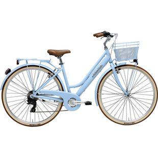 28 Zoll Damen City Fahrrad Adriatica Sity Retro 6... blau