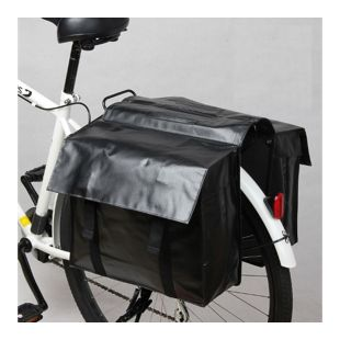 Doppel Gepäckträger Fahrrad Tasche Fahrradtasche Gepäcktasche