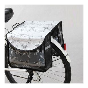 Doppel Tarpaulin Gepäckträger Fahrrad Tasche Fahrradtasche Gepäcktasche