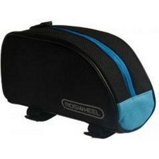 Fahrradtasche Oberrohrtasche Rahmentasche... schwarz-blau