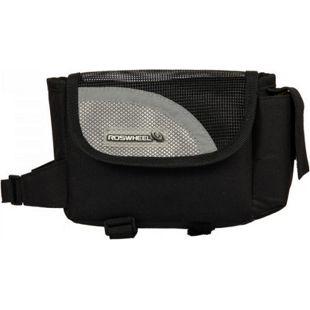 Fahrrad Tasche mit Handyfach für Montage am... silber