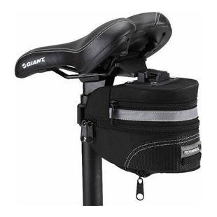 Erweiterbare Fahrrad Satteltasche mit Schnellverschluss