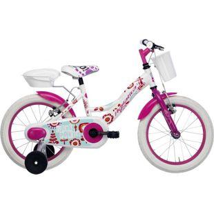14 Zoll Mädchen Fahrrad Adriatica... weiß