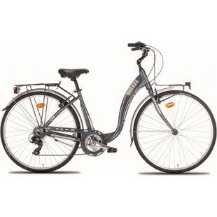 28 Zoll Damen City Fahrrad Montana Ayda 7... grau