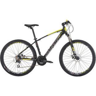 29 Zoll Mountainbike Montana Urano 21 Gang... schwarz-gelb, 53 cm